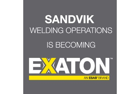 New name for Sandvik welding consumables