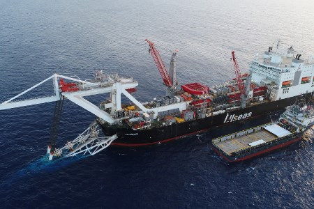 Second vessel begins Nord Stream 2 pipelay works