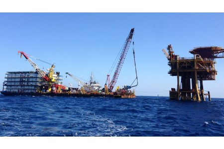 Offshore inspection project in India