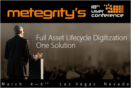 Metegrity announces the kick off of its 18th User Conference