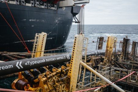Offshore section of TurkStream is completed