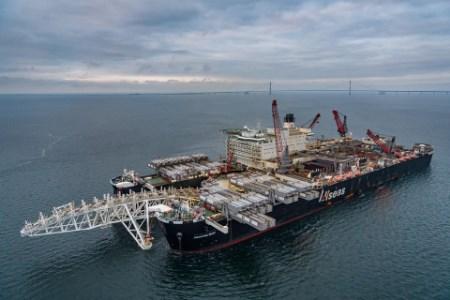 Pipelay vessel joins Nord Stream 2 construction fleet