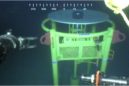 Sonardyne leak detection sonar deployed offshore US GoM