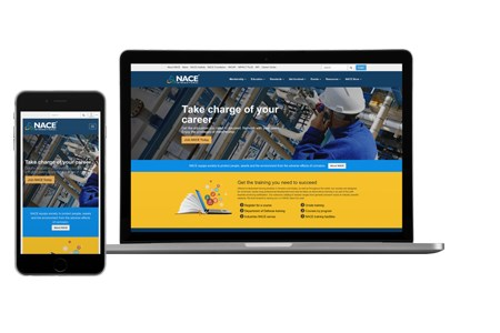 NACE International launches new website