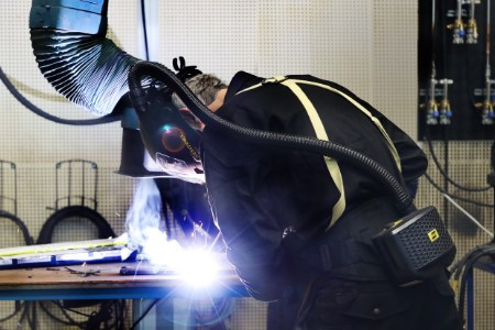 ESAB's PPE portfolio optimises welder safety