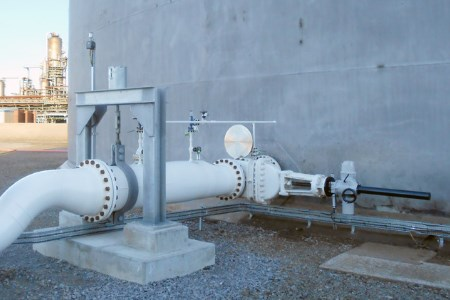 Rotork intelligent actuators at UK crude storage hub