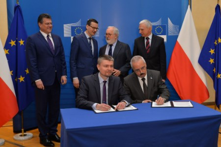 Baltic Pipe co-financing agreement signed
