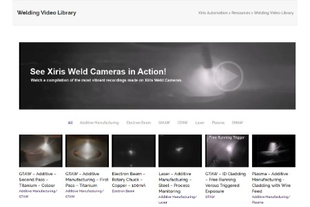 Xiris Automation expands its weld video library