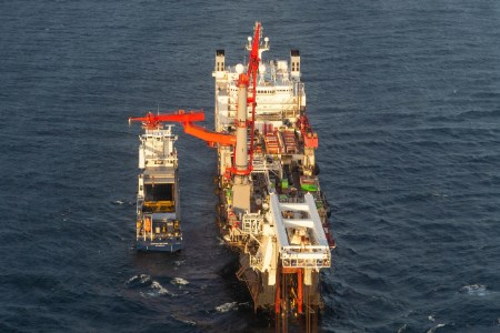 Pipelay in Russian waters for Nord Stream 2