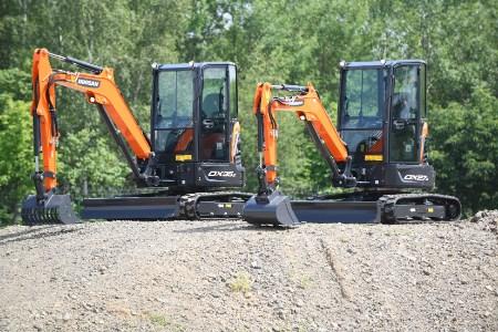 Doosan enhances range of excavators