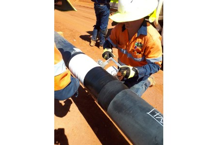 Two Denso systems protect new Australian pipeline
