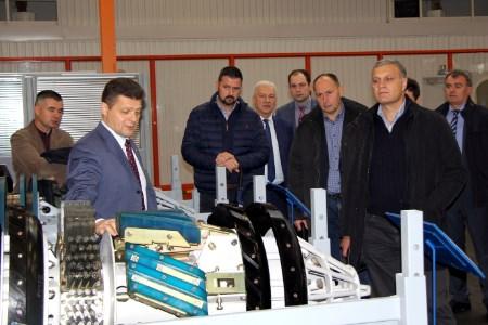 Transneft Diascan hosts visit of pipeline operator Janaf