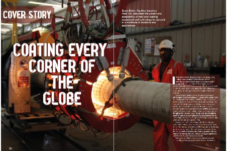 Coating every corner of the globe: report by Pipeline Induction Heat