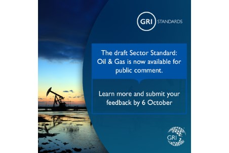 First GRI Sector Standard: transparency on oil and gas sector impacts
