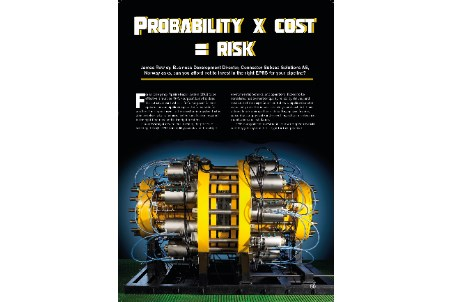Probability x cost = risk