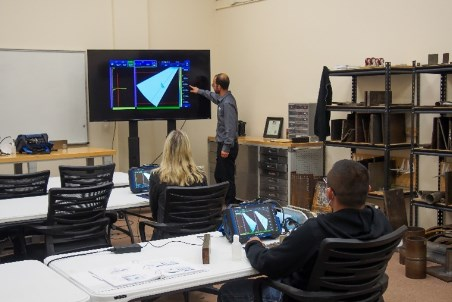 Olympus and Hellier NDT extend collaboration to train future NDT inspectors