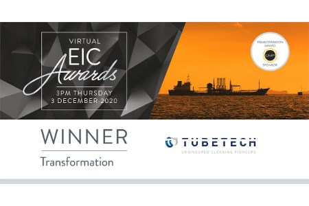 Tube Tech International wins EIC Transformation award
