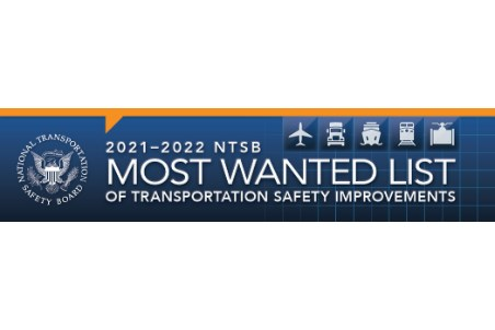 NTSB announces meeting on 'most wanted list' of transportation safety improvements