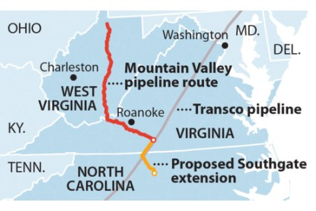 IEEFA: financial rationale evaporates for Mountain Valley Pipeline