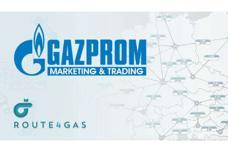 Gazprom Marketing and Trading signs client agreement with Route4Gas