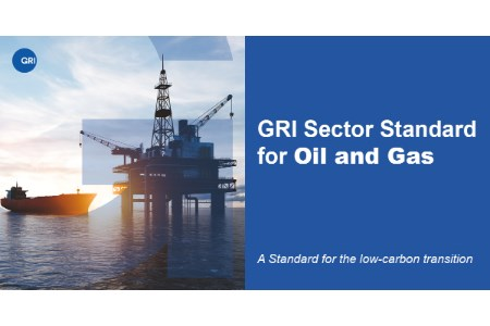Oil and gas transparency standard for the low-carbon transition