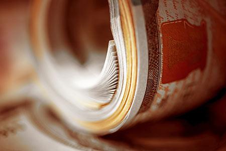 Gazprom delivers financial information